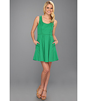 Jessica Simpson - Full Skirt Tank Dress w/ Embroidery Back Panel