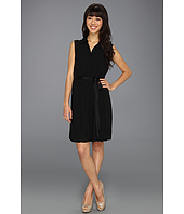 Jessica Simpson - Sleeveless Collar Dress w/ Tulip Back Bodice