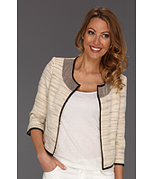 Manoukian - Woven Grosgrain Edge Jacket