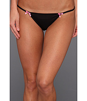 Betsey Johnson - Animal Magnetism Slinky Knit String Bikini Bottom