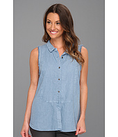 Free People - Sleeveless Linen Shirt