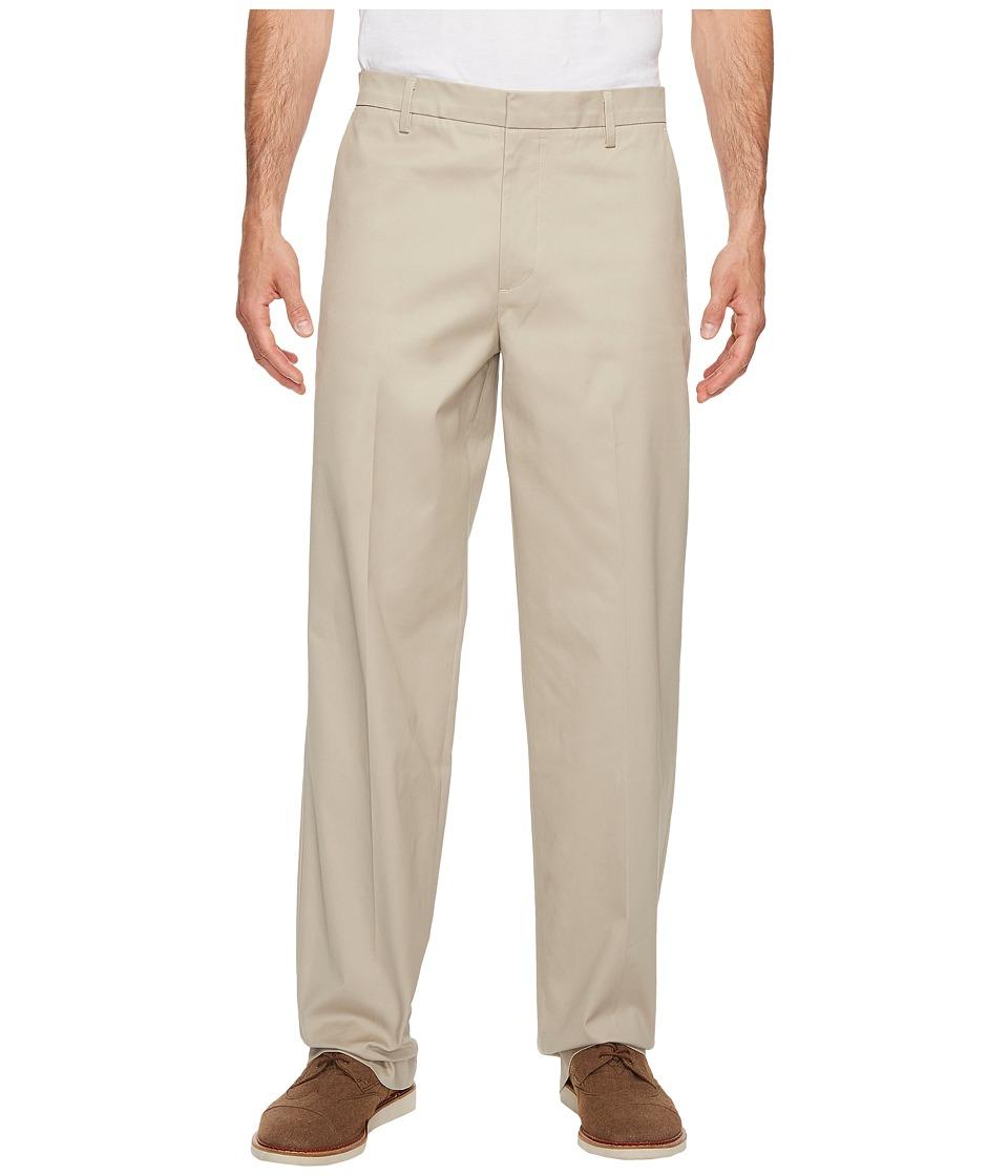 Dockers - Iron Free Khaki D3 Classic Fit Flat Front (Safari Beige) Mens Casual Pants
