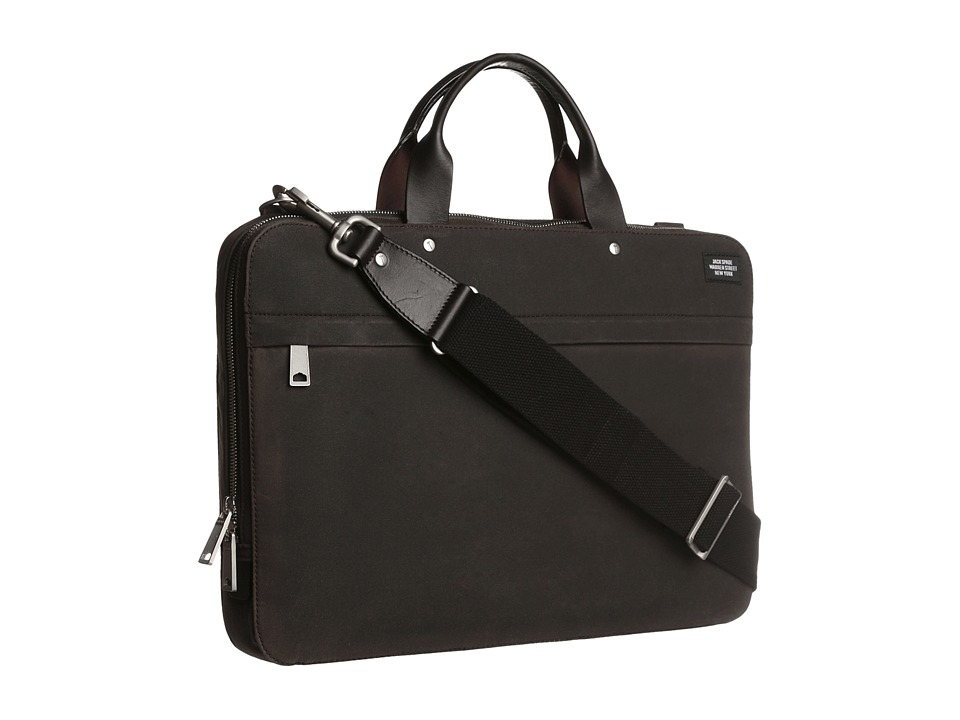 Jack Spade - Slim Brief (Chocolate) Briefcase Bags