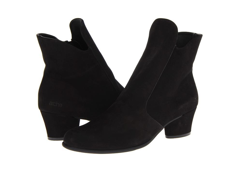 Arche Musaca Noir Womens Zip Boots