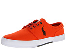 Polo Ralph Lauren - Faxon Low (Deep Orange/Deep Loden) - Footwear