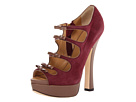 DSQUARED2 - Grace (Camoscio Bordeaux) - Footwear