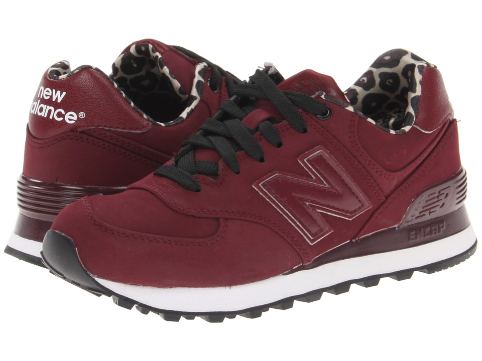 womens maroon new balance