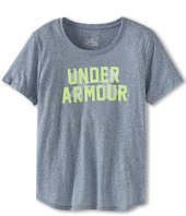 Under Armour Kids - Girls' UA Tri-blend Branded Tee (Big Kids)
