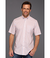 Nautica - Wrinkle Resistant Poplin Glen Plaid S/S Shirt