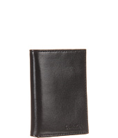 Calvin Klein - Trifold Smooth Glover Leather Wallet
