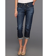 AG Adriano Goldschmied - Piper Slouchy Slim Crop in 5 Years Blue