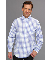 Nautica - Wrinkle Resistant Poplin Mini Plaid L/S Shirt