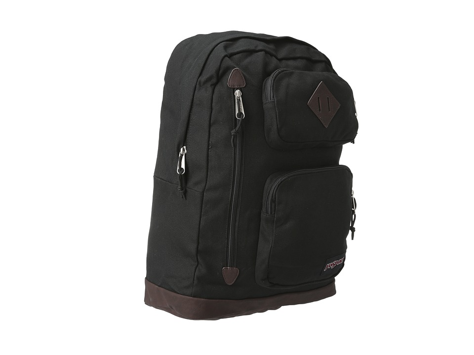 JanSport Houston Black Backpack Bags