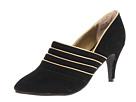 Fitzwell - Sienna (Black Split Suede Leather) - Footwear