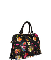 Betsey Johnson - Fringy Floral Dome Satchel