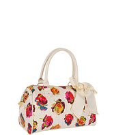 Betsey Johnson - Fringy Floral Satchel
