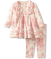 Biscotti - Victorian Rose Infant Dress & Legging (Newborn)