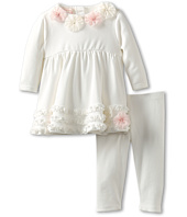 Biscotti - Pom Pom Petals Infant Dress & Legging (Newborn)