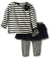 Kate Mack - Poodle In Paris Tee & Tutu Legging Set (Newborn)