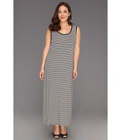 TWO by Vince Camuto - Plus Size Stripe Tank Maxi Dress