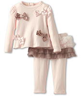 Biscotti - Neapolitan Treat Infant Top & Tutu Legging (Newborn)