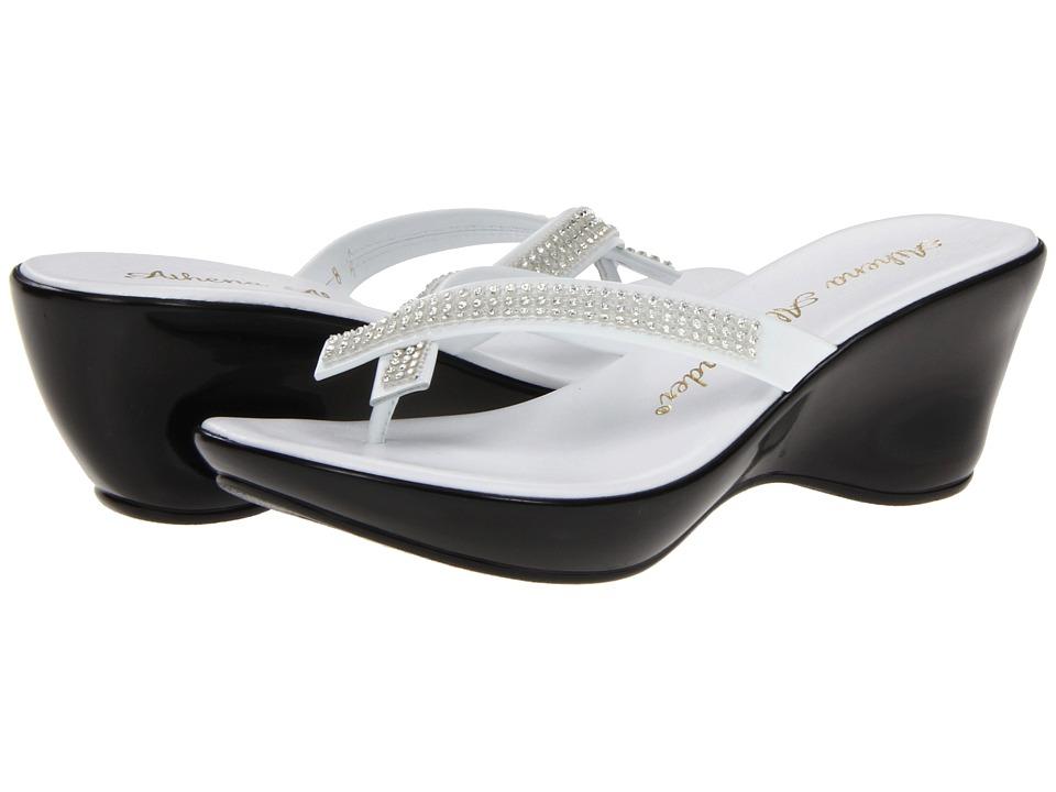 Athena Alexander Roxi White 2 Womens Wedge Shoes