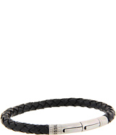 Fossil - Casual Vintage Braided Leather Bracelet