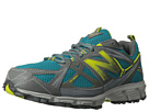 New Balance WT610v3 Teal, Light Grey, Lime Shoes