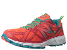 New Balance WT610v3 Coral, Turquoise, White Shoes