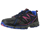 New Balance WT610v3 Dark Grey, Diva Pink, Neon Blue Shoes