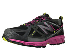 New Balance WT610v3 Black, Pink Glo, Neon Yellow Shoes