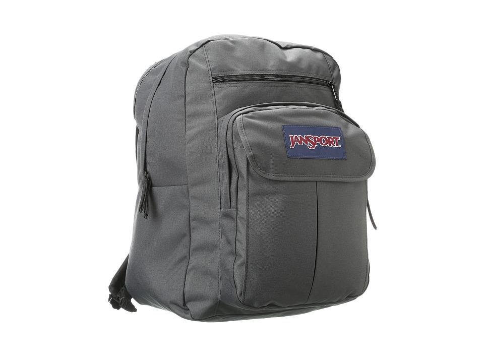JanSport Digital Student Forge Grey Backpack Bags
