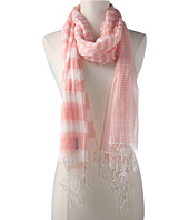 Hat Attack - Stripe Scarf W/Fringe