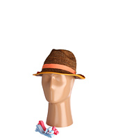 Hat Attack - Bound Edge Fedora Comes W/3 Ribbon Bands