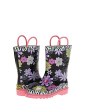 Western Chief Kids - Floral Zebra Boot (Infant/Toddler/Youth)