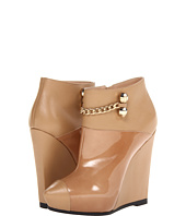 Viktor & Rolf - Patent and Calf Leather Wedge Booties