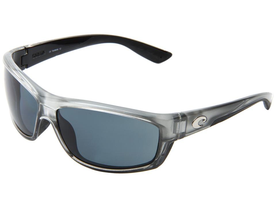 Costa Saltbreak 580 Plastic Silver/Gray 580 Plastic Lens Sport Sunglasses