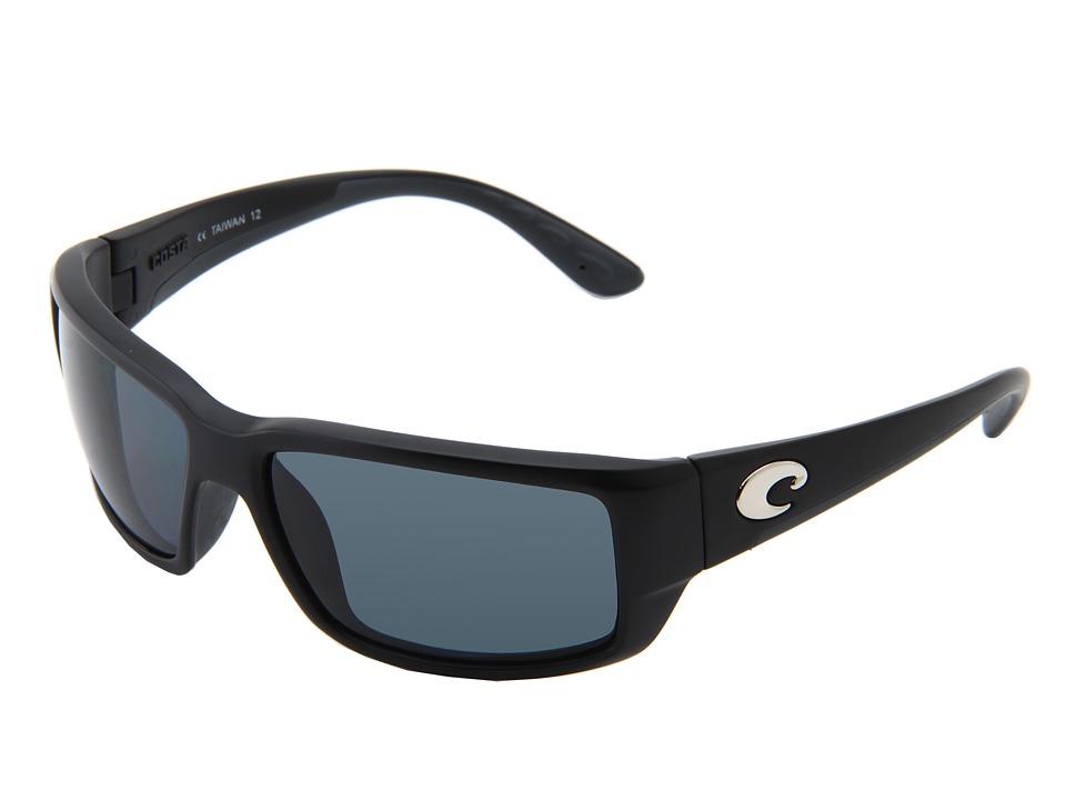 Costa - Fantail 580 Plastic (Black/Gray 580 Plastic Lens) Sport Sunglasses