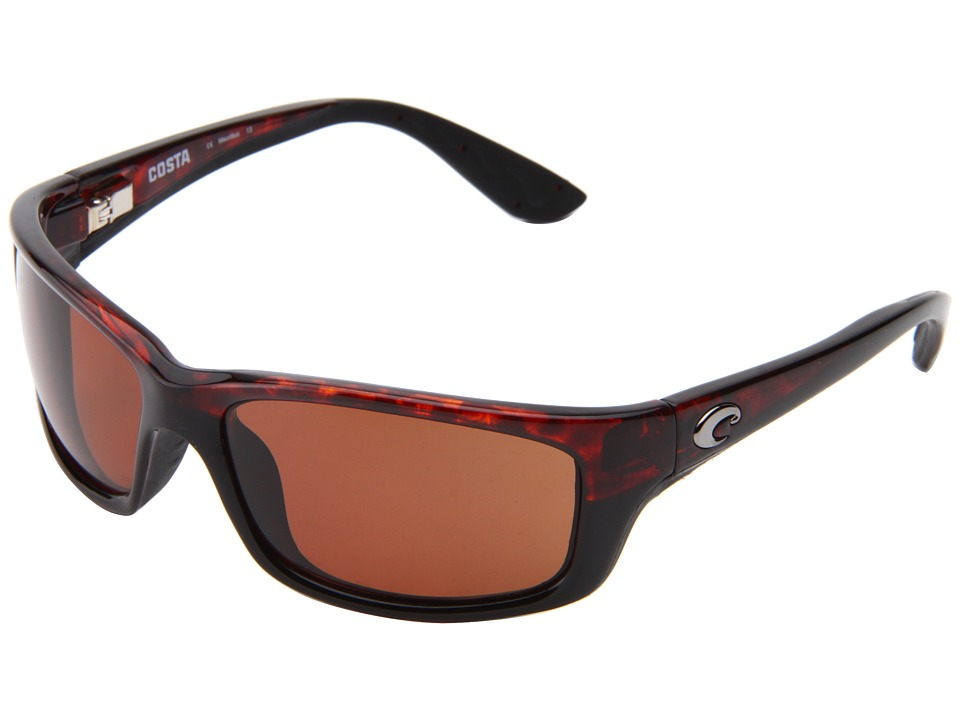 Costa - Jose 580 Plastic (Tortoise/Copper 580 Plastic Lens) Sport Sunglasses