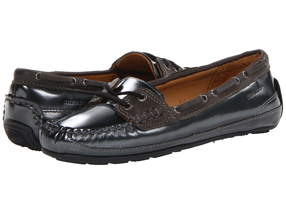 Sebago Bala Black Womens Slip on Shoes