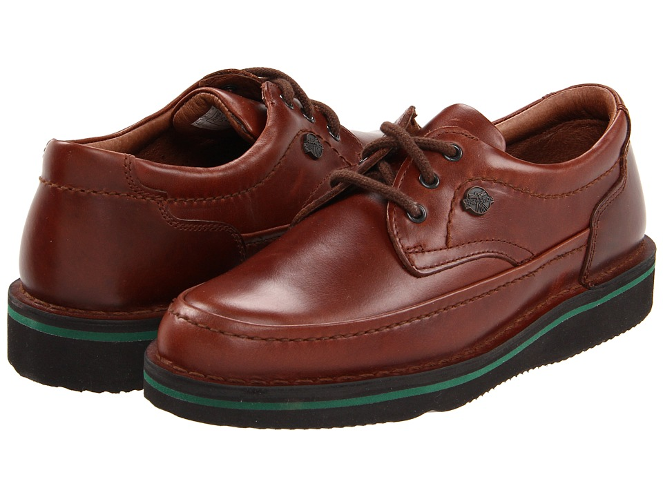 Hush Puppies - Mall Walker (Antique Brown Leather) Men