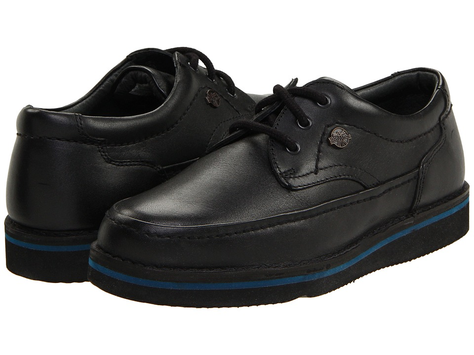 Hush Puppies - Mall Walker (Black Leather) Men