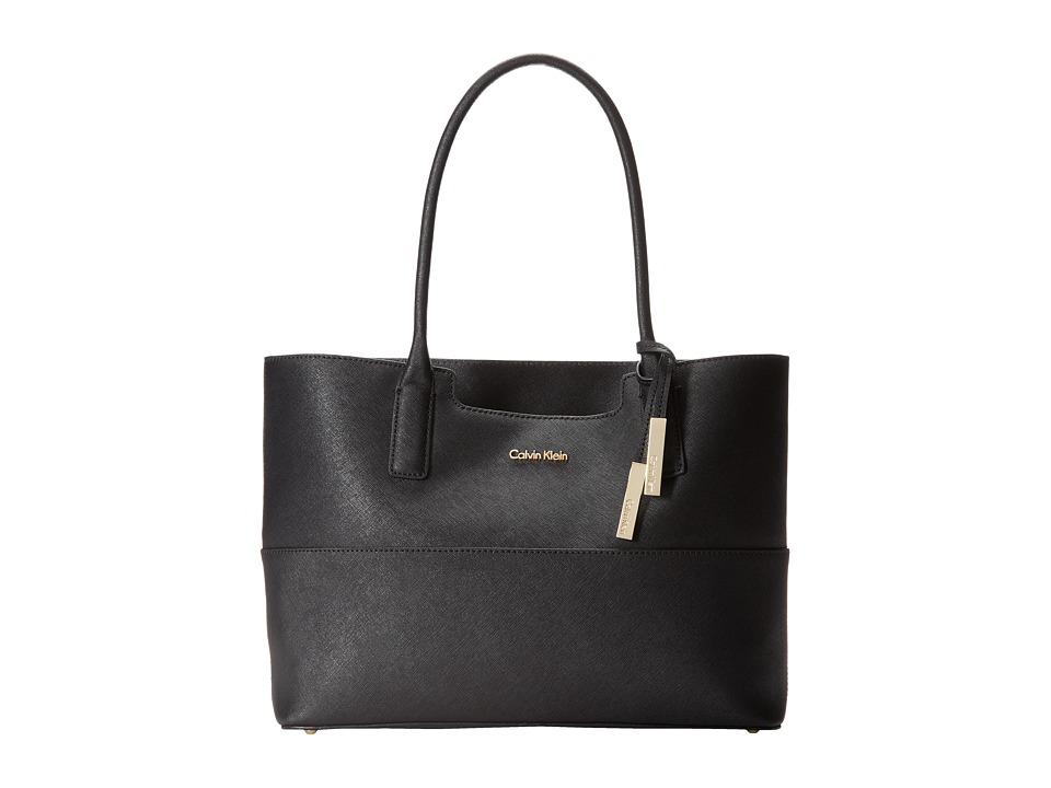 Calvin Klein - Key Item Tote H3GB11NB (Black) Tote Handbags