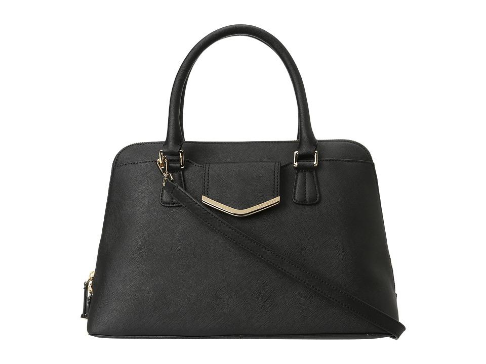 Calvin Klein - On My Corner H3GD11RP (Black) Satchel Handbags