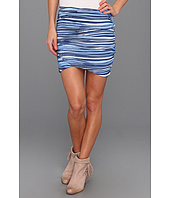 Free People - Striped Essential Scrunch Skirt