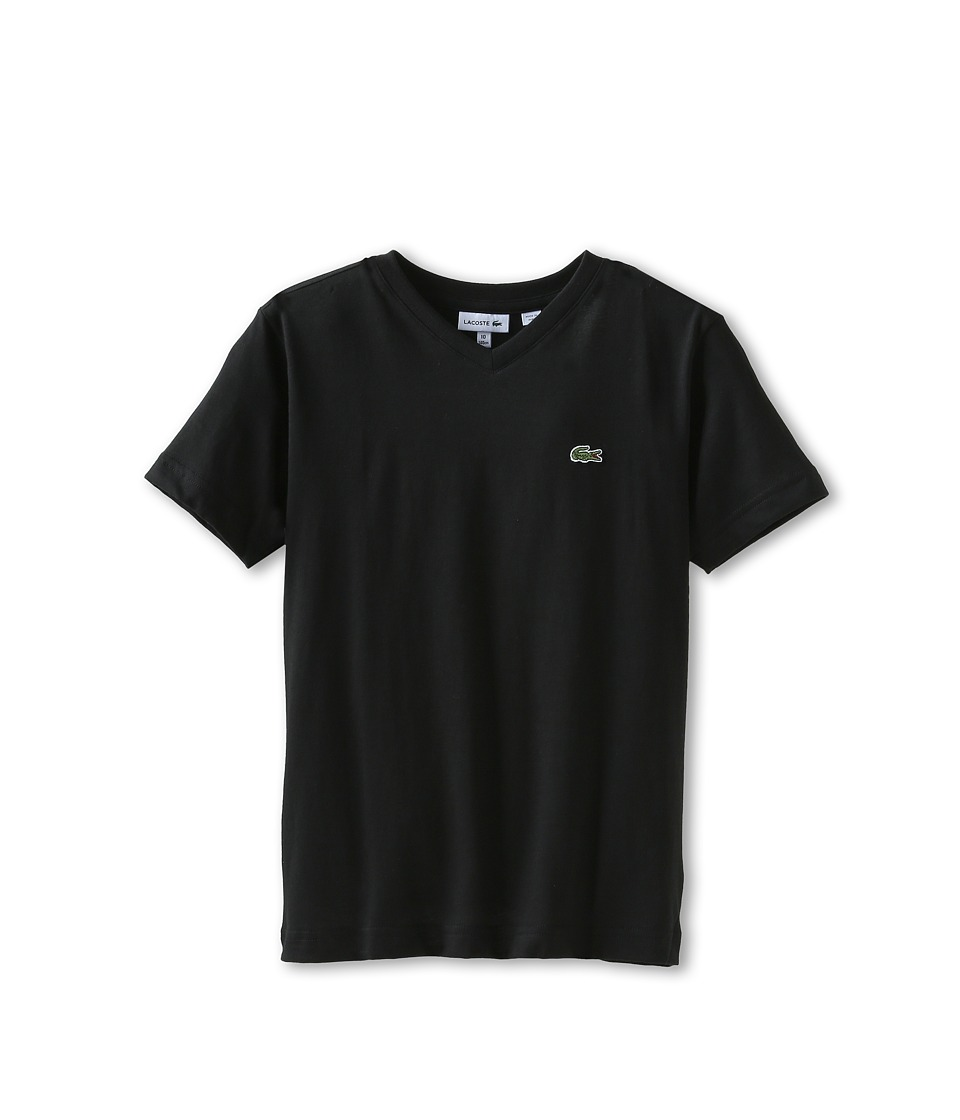 Lacoste Kids - S/S Classic Jersey V-Neck Tee