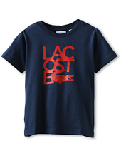 Lacoste Kids - S/S Lacoste Croc Graphic T-Shirt (Toddler/Little Kids/Big Kids)