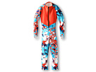 Spyder Kids - Girls' Performance GS Race Suit (Big Kids) (Splash Expression/Volcano/White) - Apparel