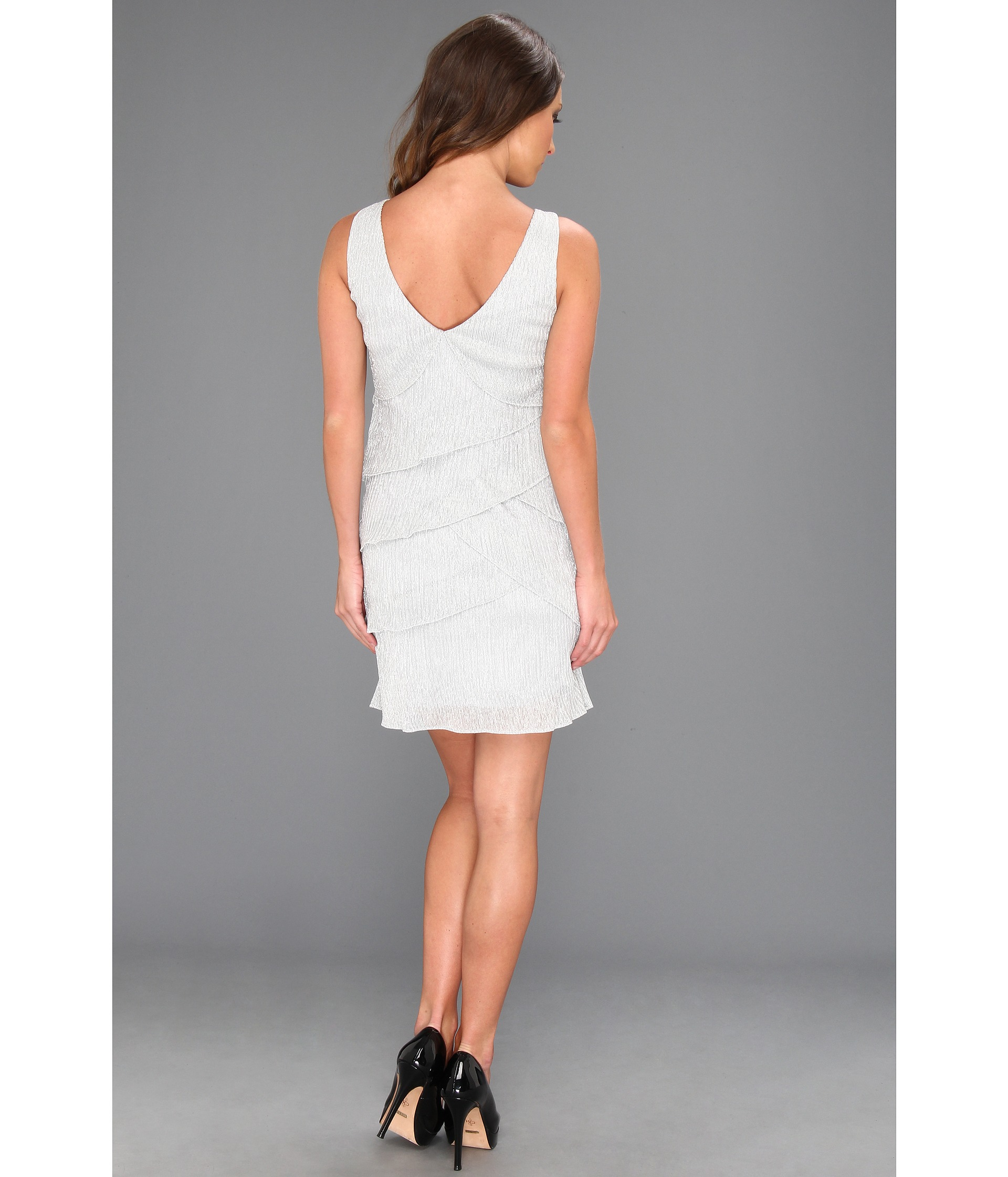 Laundry by Shelli Segal Sleeveless Tiered Dress