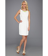 Ivy & Blu Maggy Boutique - Beaded Neck Peg Skirt Dress